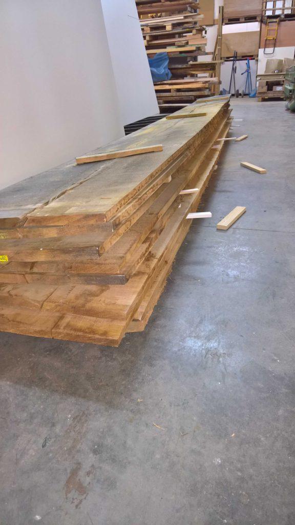 Vom Rohholz zum Boden